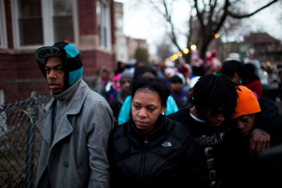Mourners Gather To Remember Chicago Baby Killed By Gang-Related Gun Violence