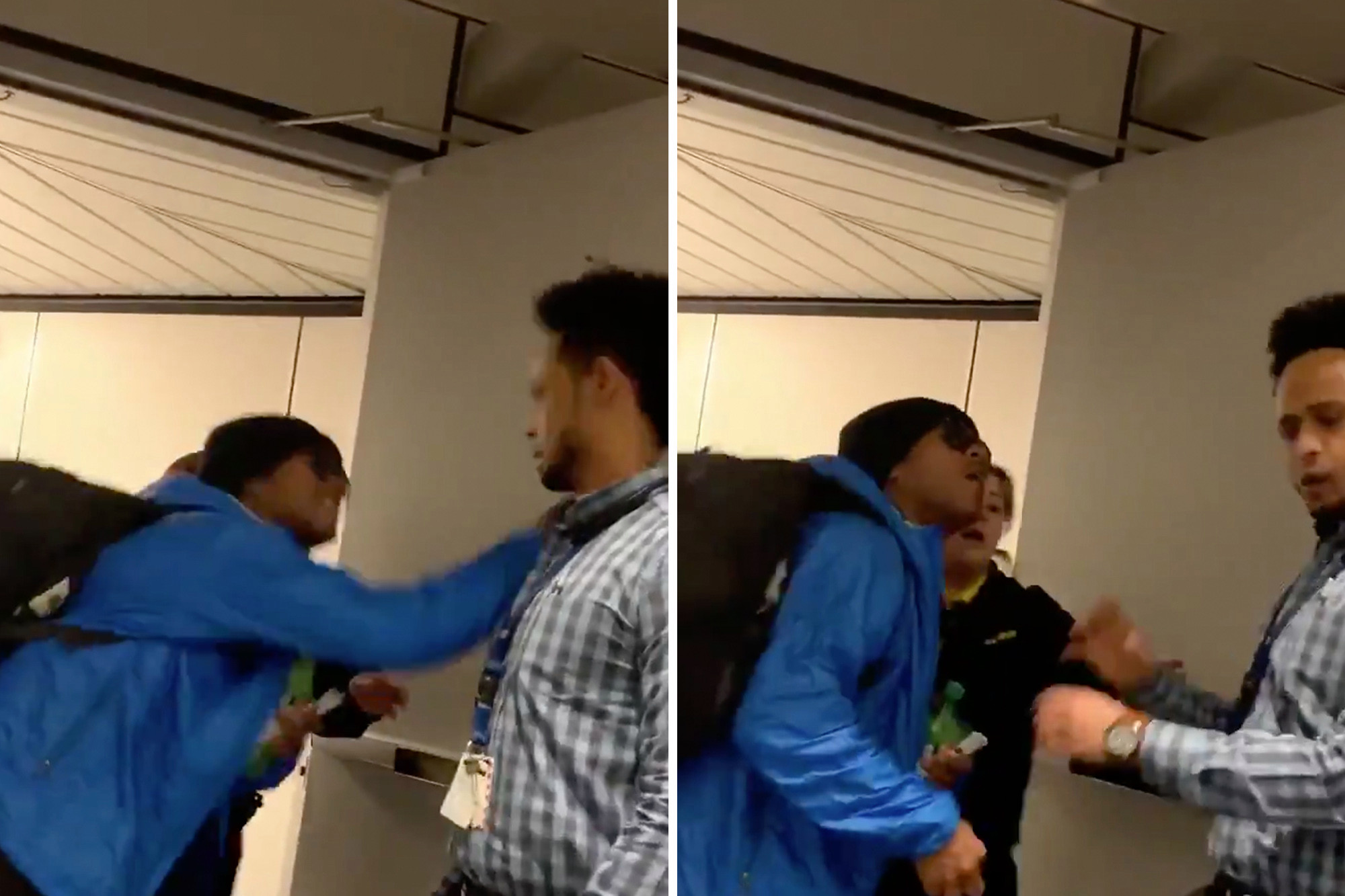 Angry Spirit Airlines Passenger Slaps Employee In The Face