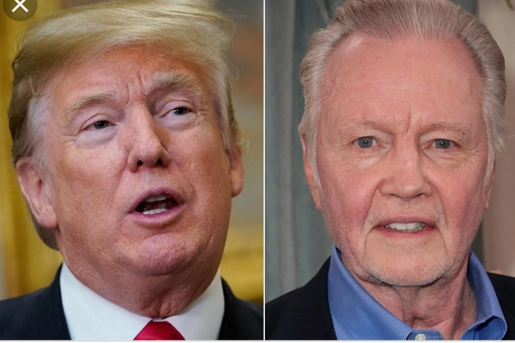 jon Voight and trump