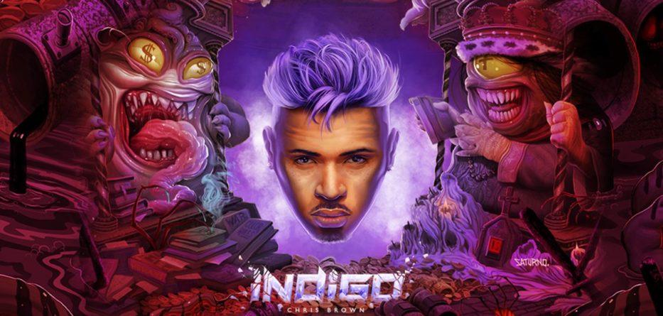 Chris Brown's New Album Indigo Reached No  1 on Apple Music