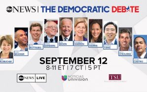 CONTINUING COVERAGE: Lineup of ABC News Dem Debate has been…
