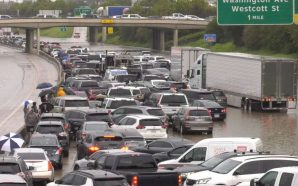 Houston Flooding Leaves Roads Closed and Planes Grounded