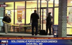 Man Stabbed to Death in Maryland Popeye's Over Chicken Sandwich