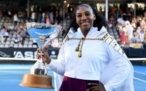 Serena Williams Wins In New Zealand