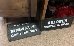 Colorado Antique Store Selling 'Whites Only' Signs Sparks Outrage