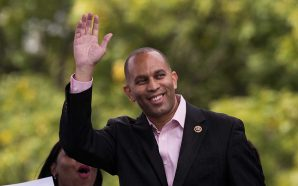 New York Congressman Hakeem Jeffries Breaks Out Notorious B.I.G.