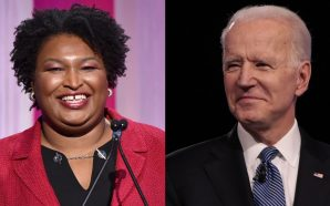 Stacey Abrams Officially Endorses Joe Biden
