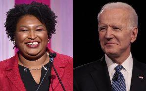 Stacey Abrams Officially Endorses Joe Biden