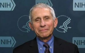 Fauci says he wears a mask to be a symbol…