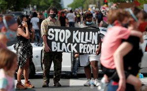 Protesters Clash with Police in Minneapolis Following George Floyd's Death