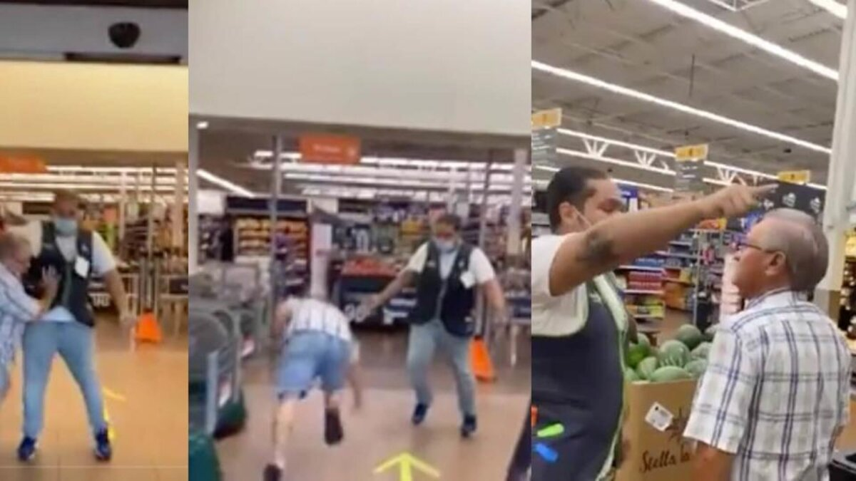 Florida Man Without Mask Assaults Walmart Staff For Being Denied Entry