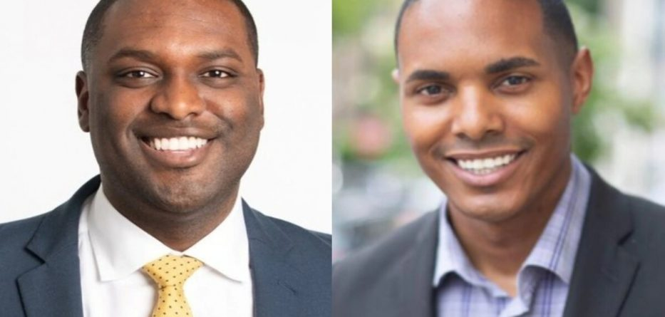 Mondaire Jones (left), and Torres Ritchie (right) are the nation's first Black gay men elected to Congress after Tuesday's primary vote. (Mondaire Jones/Ritchie Torres/Twitter)