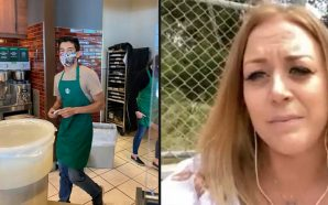 A Starbucks Barista received $80,000 in tips for refusing a…