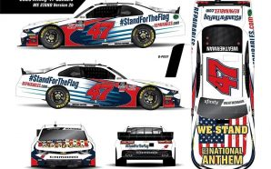 "NASCAR Team to Run ""Stand for the Flag"" Car at…"