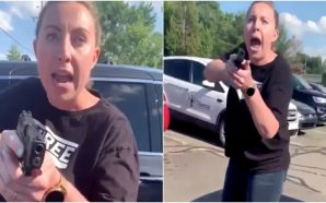 Video shows white woman pulling pistol on black mother and…