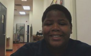 Cornelius Fredericks, 16, died at Lakeside Academy. (Image via Jon Marko/CNN)