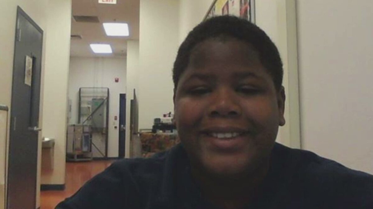 Cornelius Fredericks, 16, died at Lakeside Academy. (Image via Jon Marko/CNN)