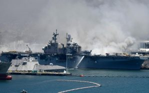 Explosion on U.S. Navy Ship in San Diego Leaves 57…