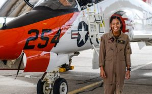 Madeline Swegle becomes U.S. Navy's 1st Black female fighter pilot
