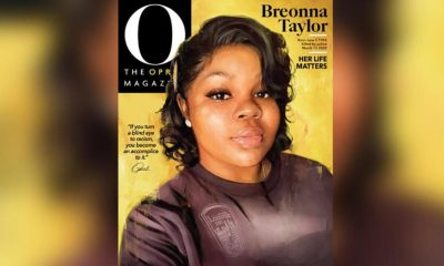 "Breonna Taylor's cover art of ""O, The Oprah Magazine"" for the September issue. (Courtesy of O Magazine)"