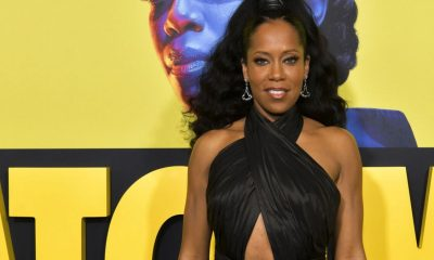 "Regina King attends the Premiere of HBO's ""Watchmen"" at The Cinerama Dome on October 14, 2019 in Los Angeles, California. (Image via Rodin Eckenroth/FilmMagic)"