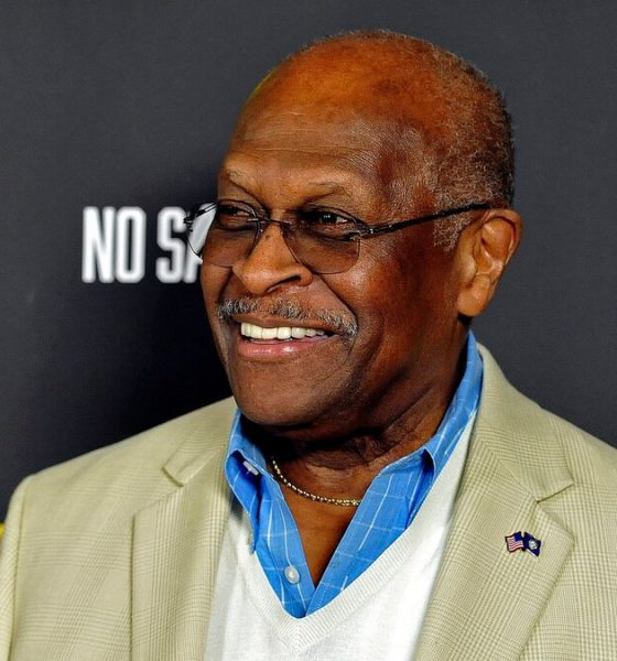 """Herman Cain attends the premiere of the film """"No Safe Spaces"""" at TCL Chinese Theatre on Nov. 11, 2019 in Hollywood, California. (Image via Michael Tullberg/Getty Images)"""