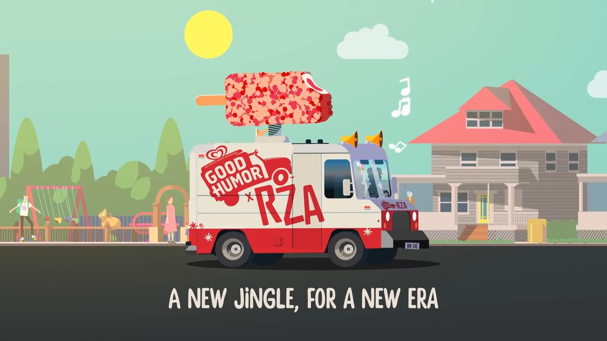 Graphic from Good Humor's latest preview of the new jingle. (Good Humor/Youtube)