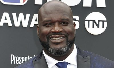 Shaquille O'Neal at the NBA Awards in Santa Monica, Calif, This June 24, 2019. (File photo/ Richard Shotwell)