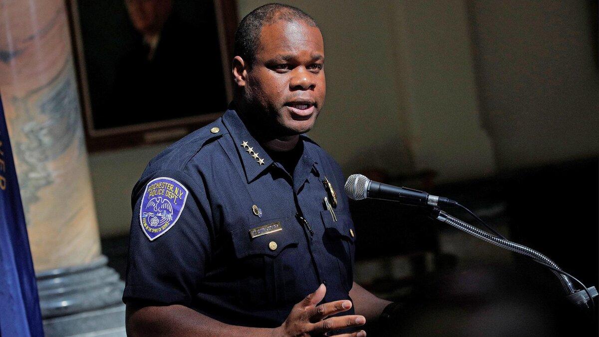 Former Police Chief La'Ron Singletary of Rochester, NY. (Image via NBC News)