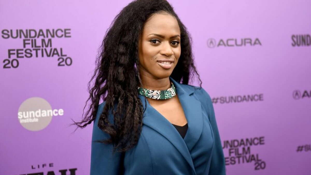 """Director Maïmouna Doucouré attends the """"Cuties"""" premiere during the 2020 Sundance Film Festival at Egyptian Theatre on January 23, 2020 in Park City, Utah. (Ilya S. Savenok/Getty Images)"""