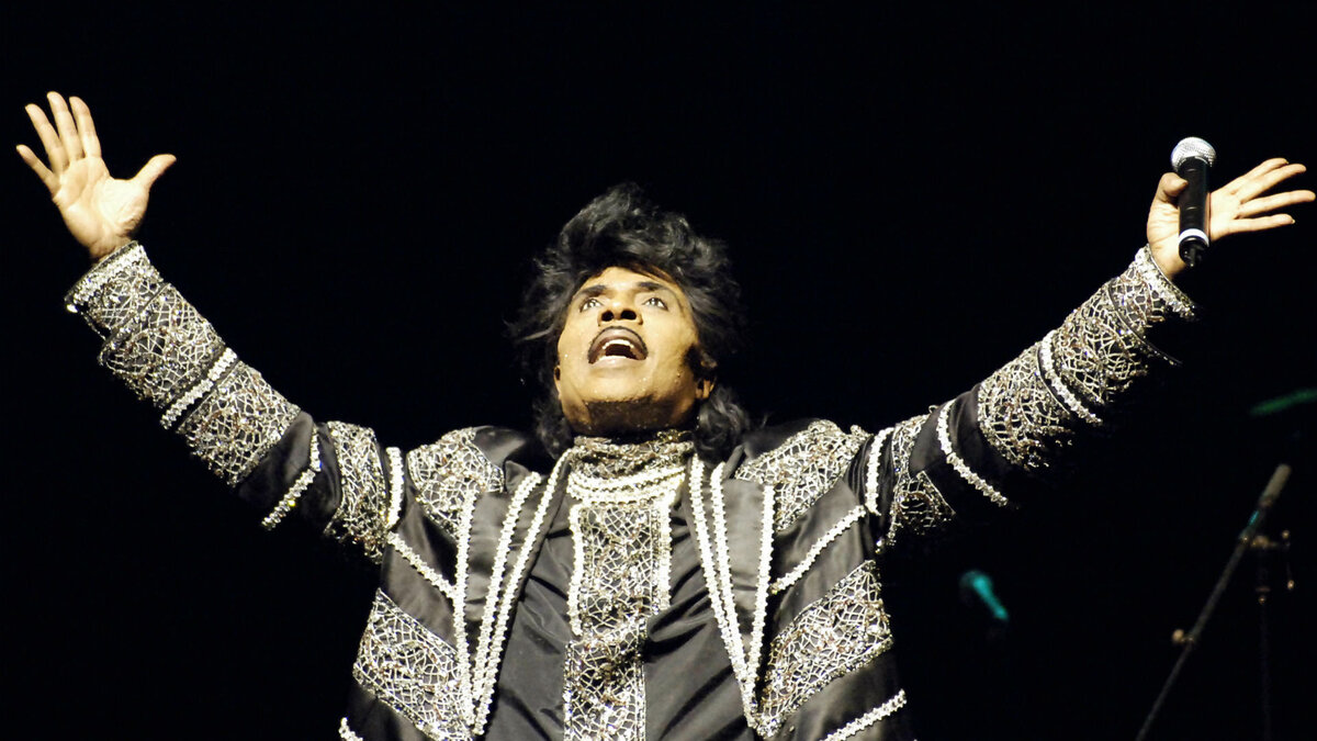 Rock and Roll Star Little Richard. (Image via Getty Images)