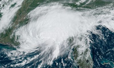 Satellite imagery of Hurricane Sally on Sep. 16th, 2020 (Image via Bay News 9)