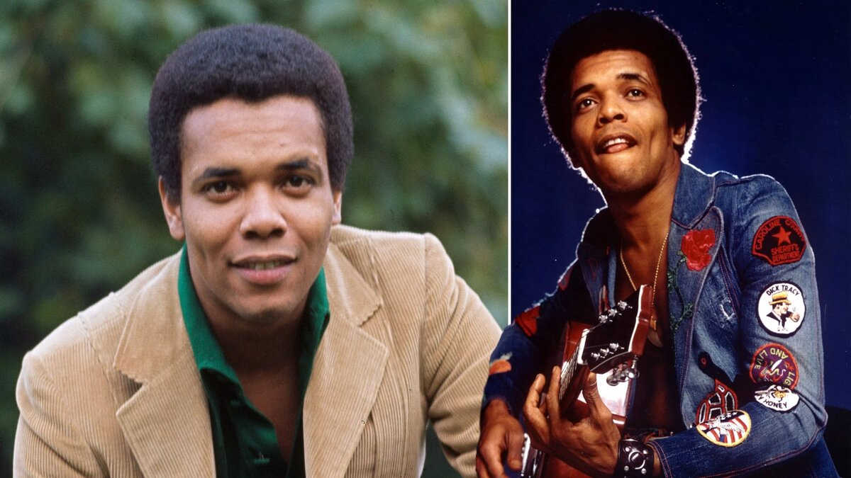 Johnny Nash has died of natural causes. (Graphic via Michael Ochs Archives)