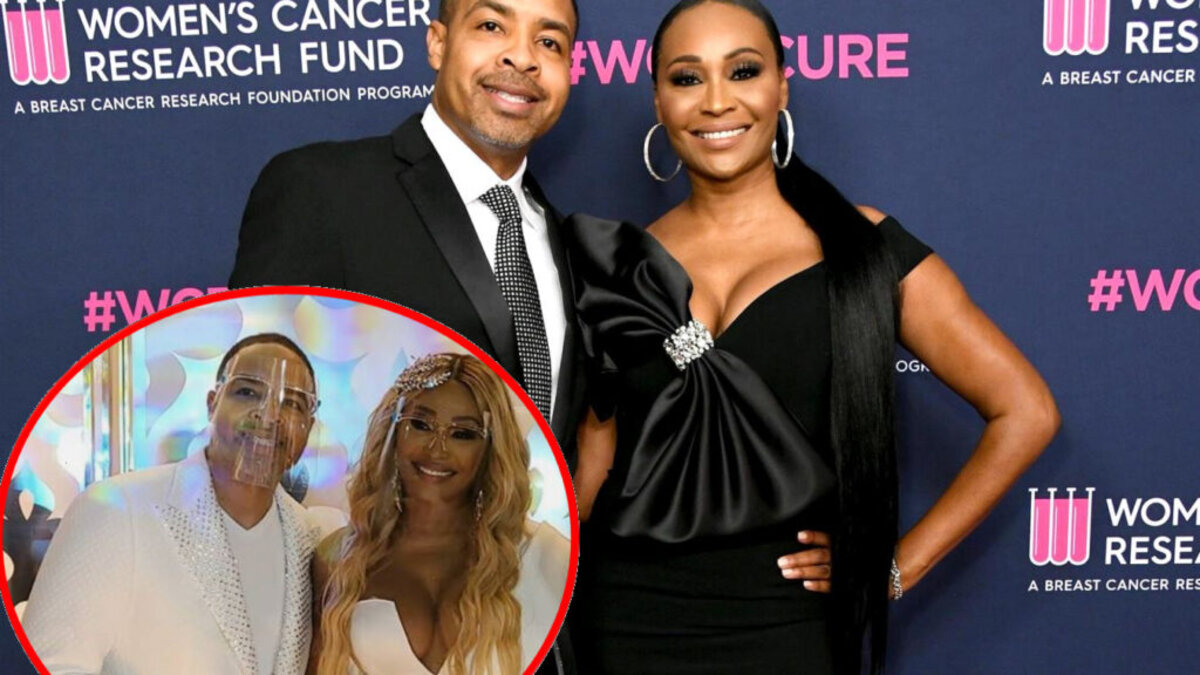 Cynthia Bailey and Mike Hill. (Credit: Media Punch/INSTARimages, Instagram)