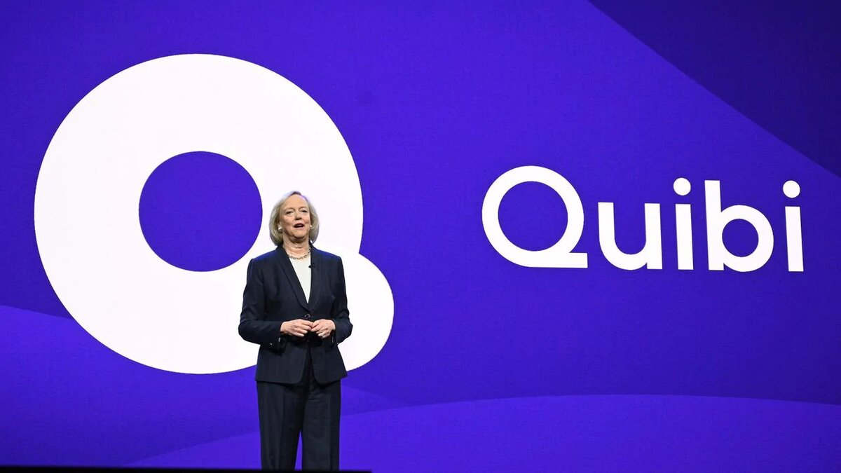 Meg Whitman is without doubt one of the founders of Quibi. (Image via Robyn Beck / AFP)