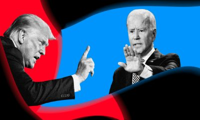 President Donald Trump and Joe Biden faced off in the final presidential debate of the 2020 election on Thursday October 22nd at 9 pm EST. (Graphic via Chelsea Stahl / NBC News)
