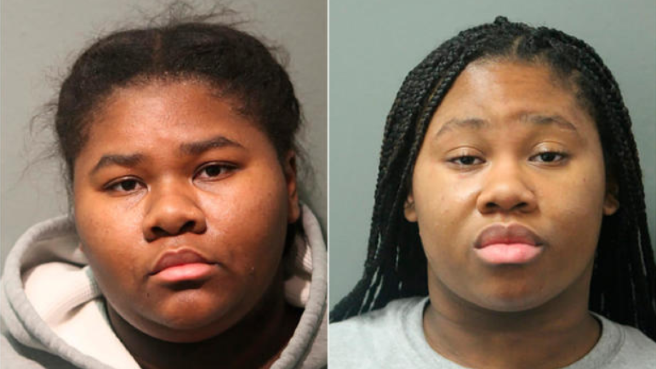 Jessica and Jayla Hill (CHICAGO POLICE DEPARTMENT VIA AP)