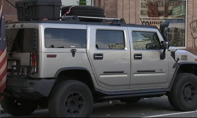 Photograph of the Hummer owned by the suspects in the plotted attack. (Image via WPVI-TV)